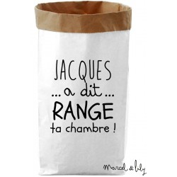 Paper bag marcel lily for Range ta chambre