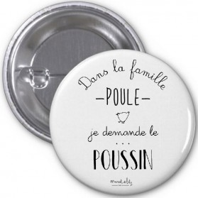 "Badge ""Poussin"""