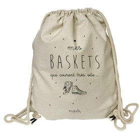 "grand sac a dos ""Baskets"""