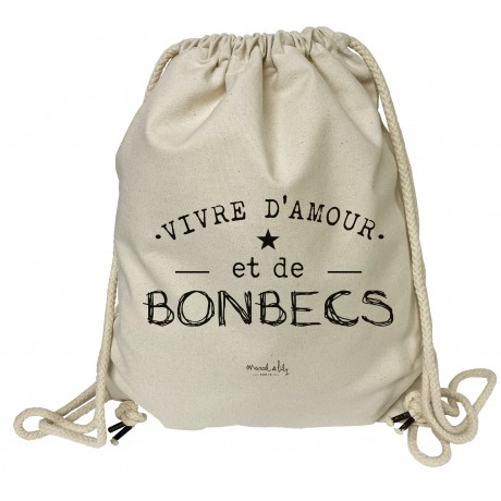 "grand sac a dos ""Bonbecs"""