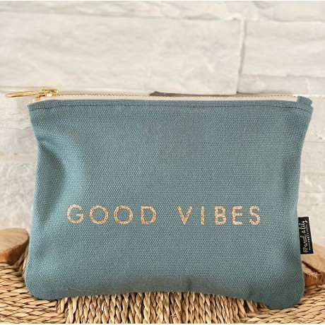 "Trousse eucalyptus ""Good Vibes"""