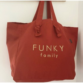 Cabas Lily Terracotta - Funky family