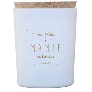 "Bougie ""Ma petite Mamie adorée"" Caramel beurre salé"