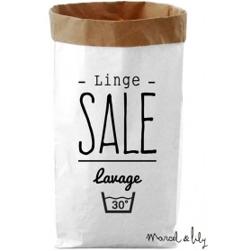 "Paper Bag ""Linge sale"""