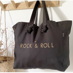 """Cabas Lily- noir Pepper """"Rock and Roll"""""""