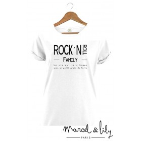"Tee-shirt femme ""Rock'N Roll Family"""